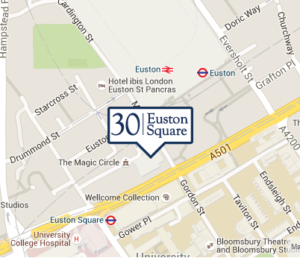 30 Euston Square - Map